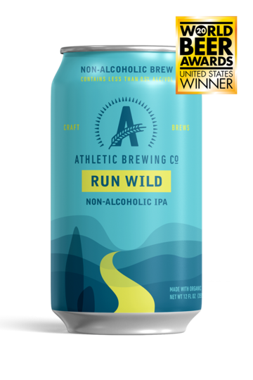 Athletic Brewing - Run Wild IPA (6-Pack)