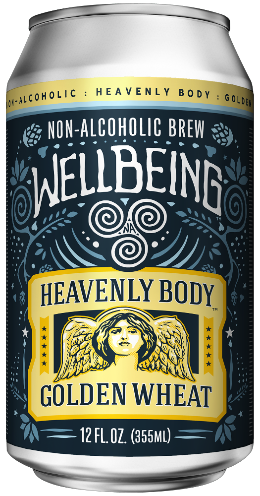 Wellbeing Brewing - Heavenly Body Golden Wheat (6-Pack)