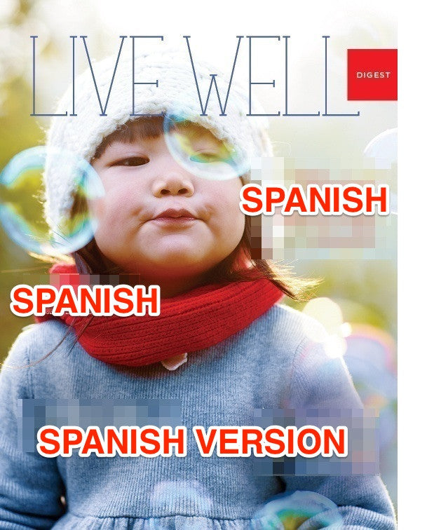 Live Well Digest - Spanish Winter Issue - Sold in Packs of 25