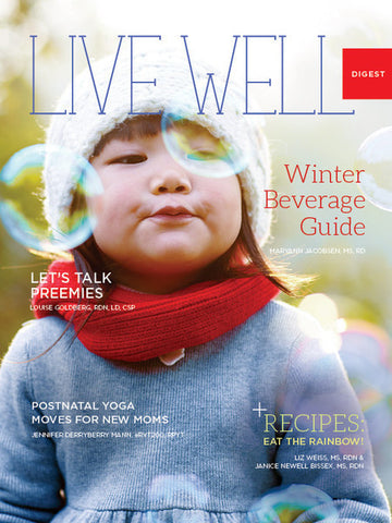 Live Well Digest - Winter Issue - Sold in Packs of 25