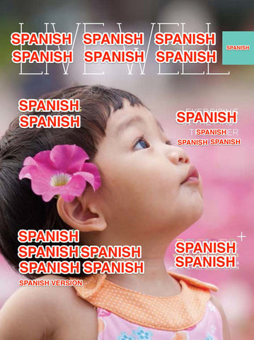 Live Well Digest - Spanish Spring Issue - Sold in Packs of 25