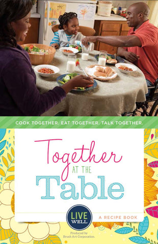 Recipe Book: Together at the Table - Sold in Packs of 25