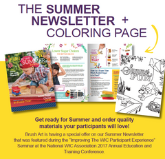 April Special Offer | Summer Newsletter + Coloring Page
