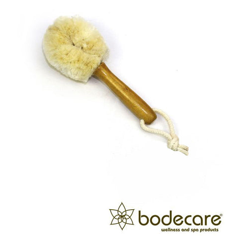 Jute FSC Certified Dry Face Brush - Soft Bristle