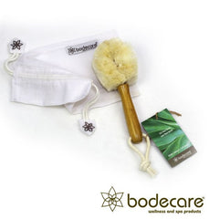Bodecare - Jute FSC Certified Dry Face Brush - Soft Bristle - Full Set