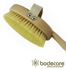 Bodecare - Tampico FSC Certified Dry Body Brush - Firm Bristle - Closeup