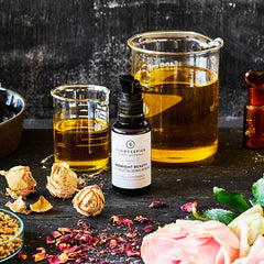 FLOWER AND SPICE | MIDNIGHT BEAUTY RICH REVITALIZING SERUM [ROSE & CORIANDER] | CREATIVE