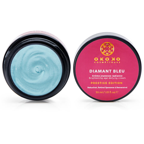 Diamant Bleu Age-Defying Cream [With Bakuchiol, Retinol + Resveratrol] - Prestige Edition
