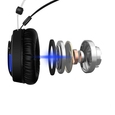LED 2.2m Wired Gaming Headphone