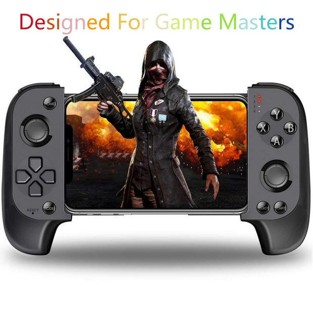 Wireless Stretchable Gaming Controller