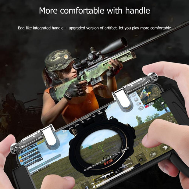 K03 Mobile Gaming Grip Trigger