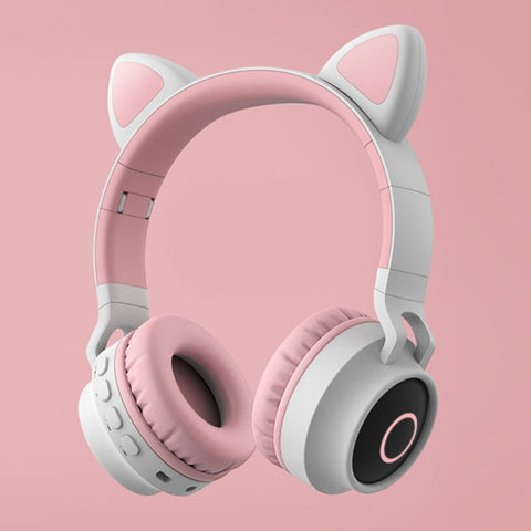 Cute Cat Ear Headset