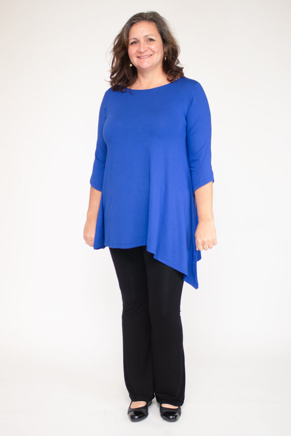 Lauren Tunic / Solid Azure