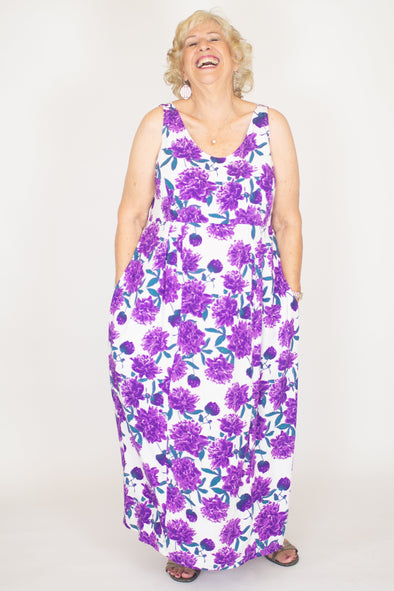Joan Dress / Peony Plum