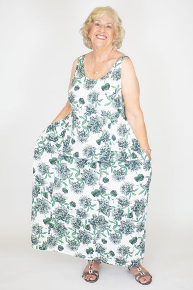 Joan Dress / Peony Misty