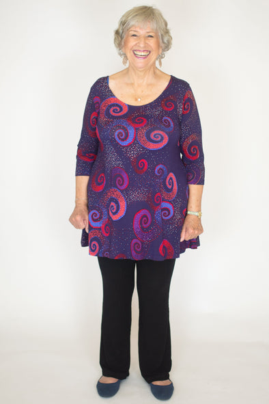 Margaret Top / Celeste Plum