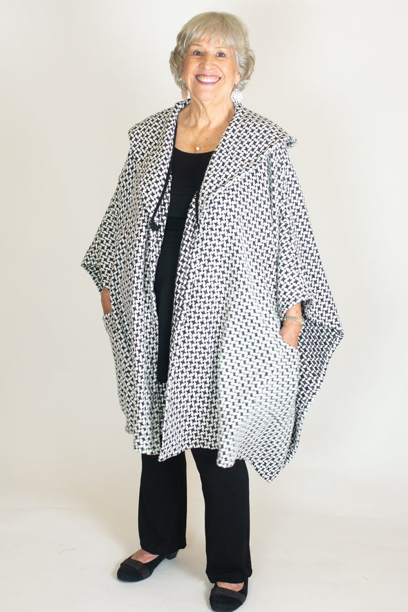 Myrna Coat / Salt & Pepper