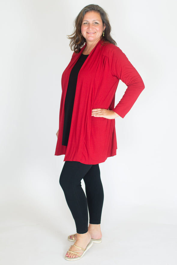 Deborah Jacket / Solid Red