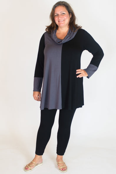 Rosalind Tunic / Solid Grey