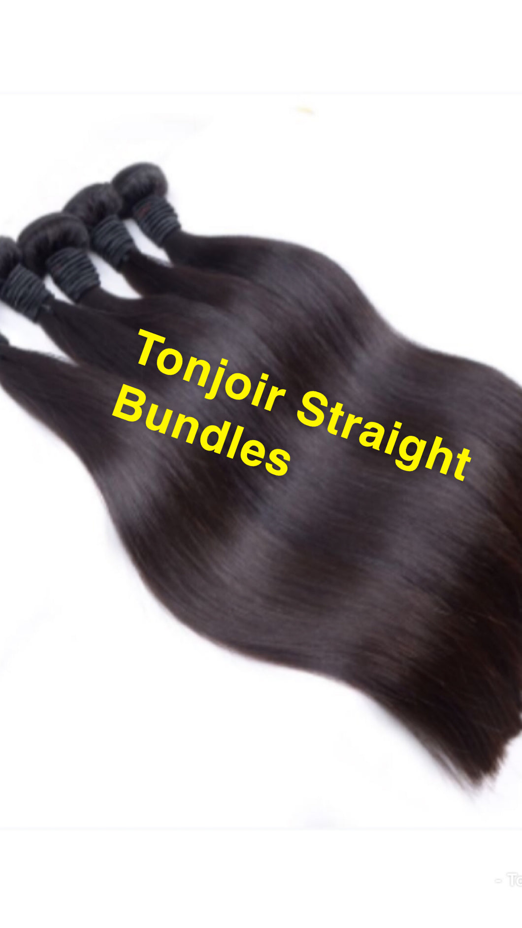 A B. Tonjoir's Extensions (Straight)