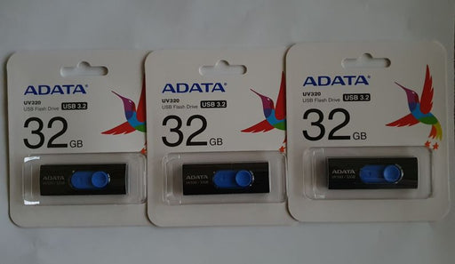 3 st 32Gb USB-minne