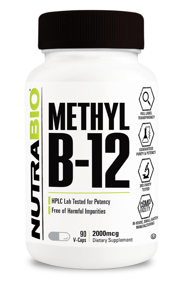 Methyl B-12 (2000mcg) 90 Vegetable Capsules