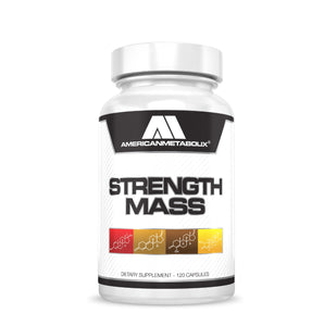 American Metabolix Strength Mass (120 Caps)
