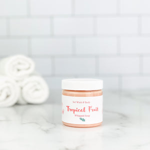Tropical Fruit Whipped Soap