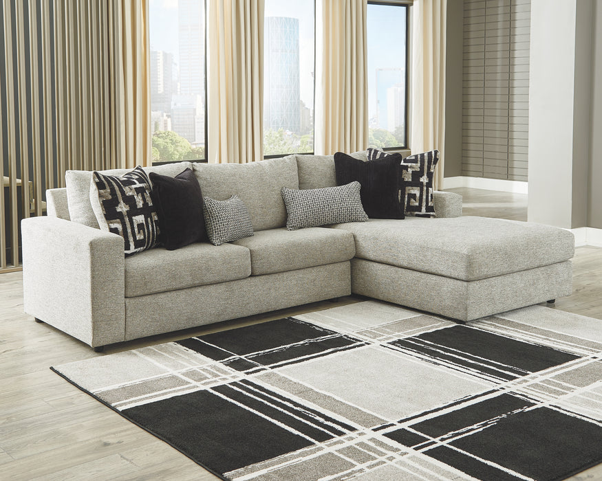 Ravenstone Signature Design by Ashley 2-Piece Sectional with Chaise image