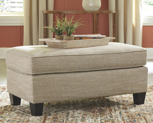 Almanza Signature Design by Ashley Ottoman image