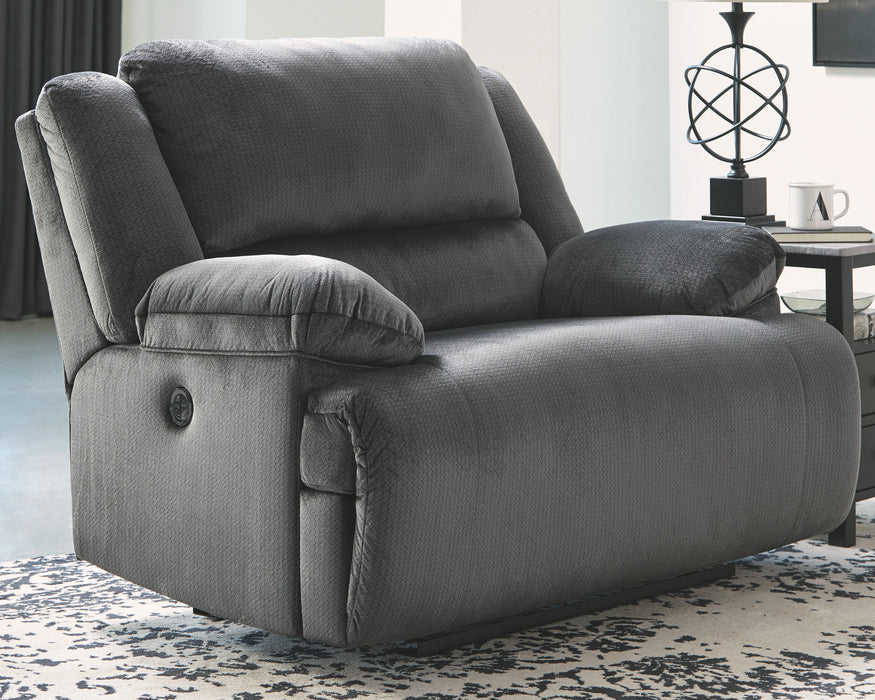 Clonmel Signature Design by Ashley Zero Wall Wide Seat Recliner image