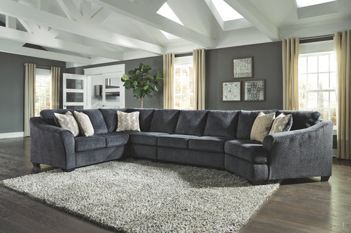 Eltmann Signature Design by Ashley 4-Piece Sectional with Cuddler image