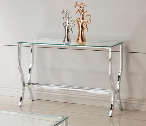 G720338 Contemporary Chrome Sofa Table image