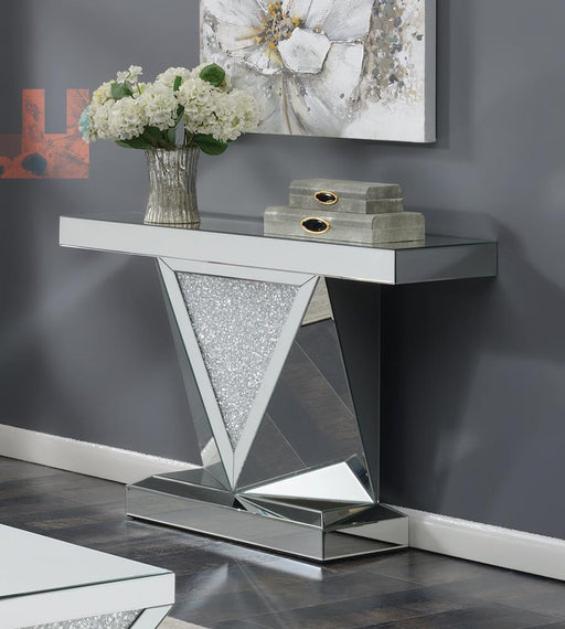 G722507 Contemporary Silver Sofa Table image