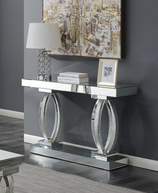 G722519 Contemporary Silver Sofa Table image