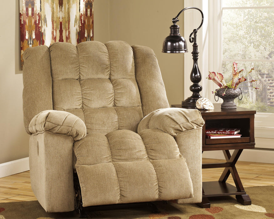 Ludden Signature Design by Ashley Power Rocker Recliner image
