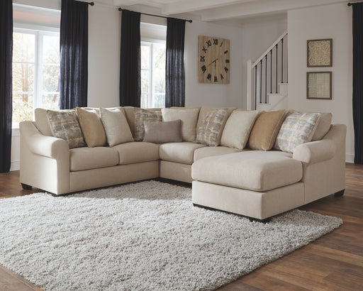 Ingleside Benchcraft 4-Piece Sectional with Chaise image