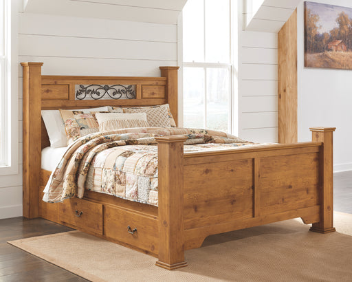 Bittersweet Signature Design by Ashley Bed with 2 Storage Drawers image