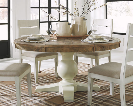 Grindleburg Signature Design by Ashley Dining Table image
