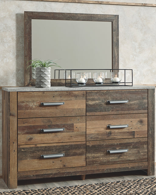 Chadbrook Benchcraft Dresser and Mirror image