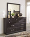 Reylow Signature Design by Ashley Bedroom Mirror image