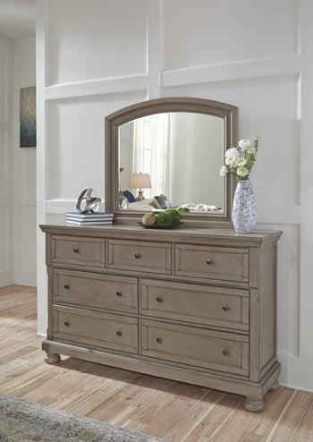 Lettner Signature Design by Ashley Bedroom Mirror image