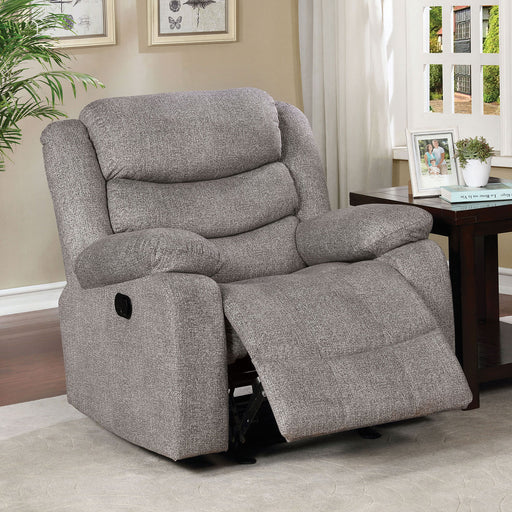 Castleford Light Gray Recliner image