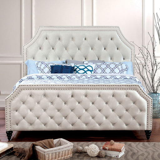 CLAUDINE Beige E.King Bed image