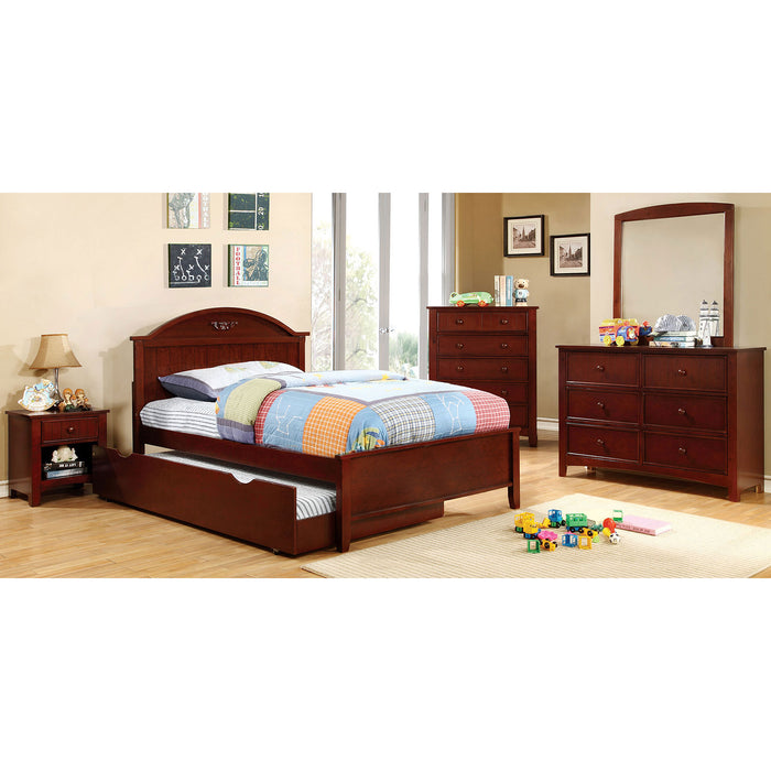 Cherry 4 Pc. Twin Bedroom Set image