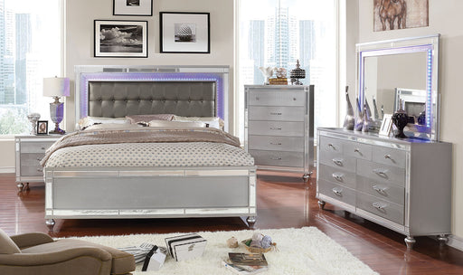 Brachium Silver 5 Pc. Queen Bedroom Set w/ Chest image