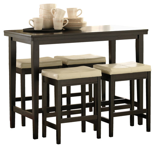 Kimonte Signature Design Counter Height 5-Piece Dining Room Set image