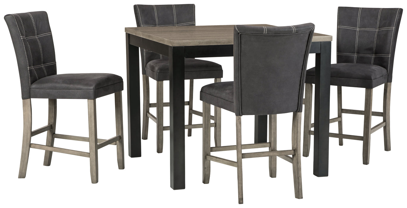 Dontally Benchcraft Counter Height5-Piece Dining Room Set image