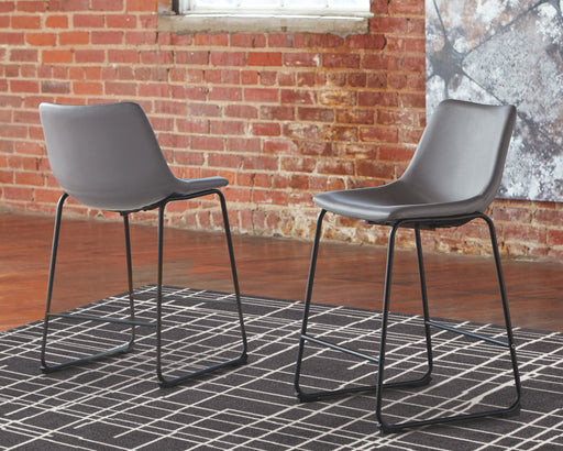 Centiar Signature Design by Ashley Upholstered Barstool 2CN image