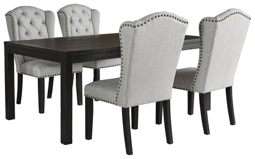 Jeanette Ashley 5-Piece Dining Room Set image
